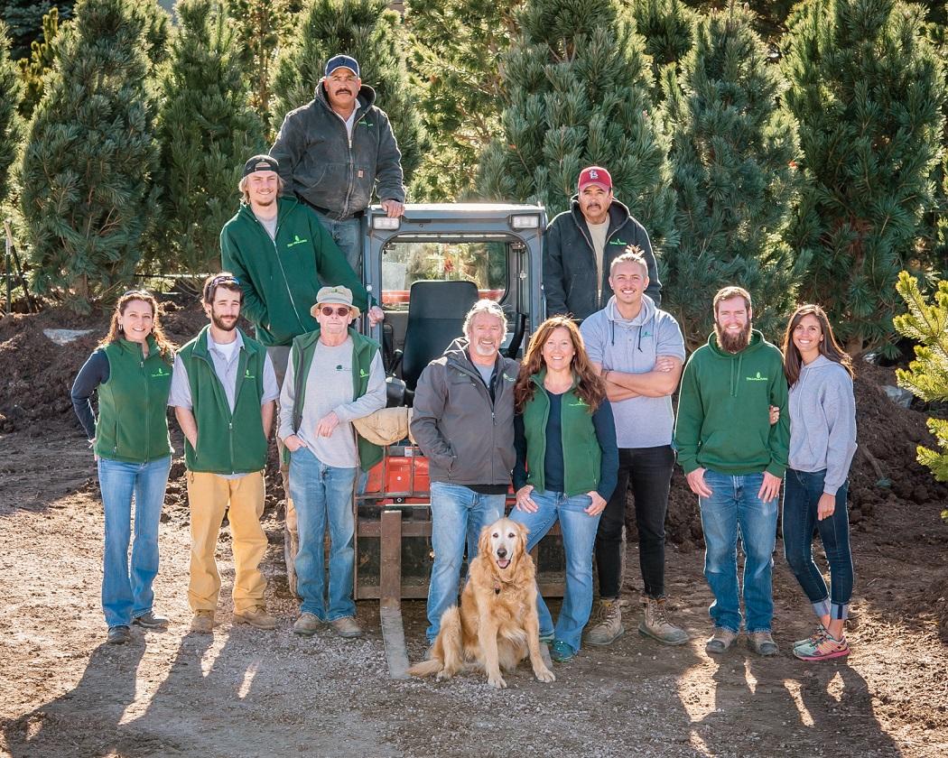 Pine Lane Nursery and Tree Farm Staff